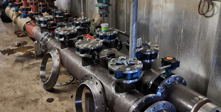 Tuyauterie industrielle